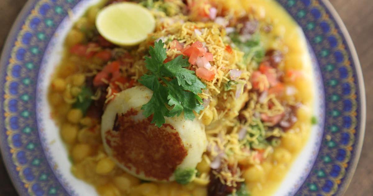 Ragda Patties Recipe | Popular Mumbai Street Food | The