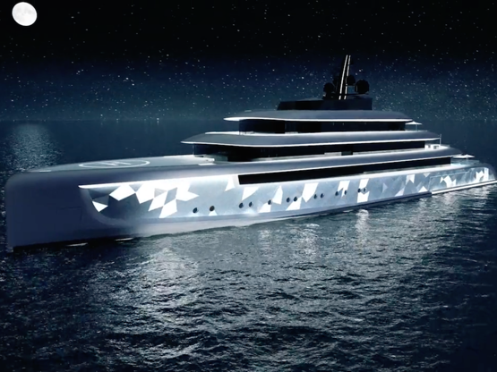 These 12 luxurious yachts have pools, helipads, and look