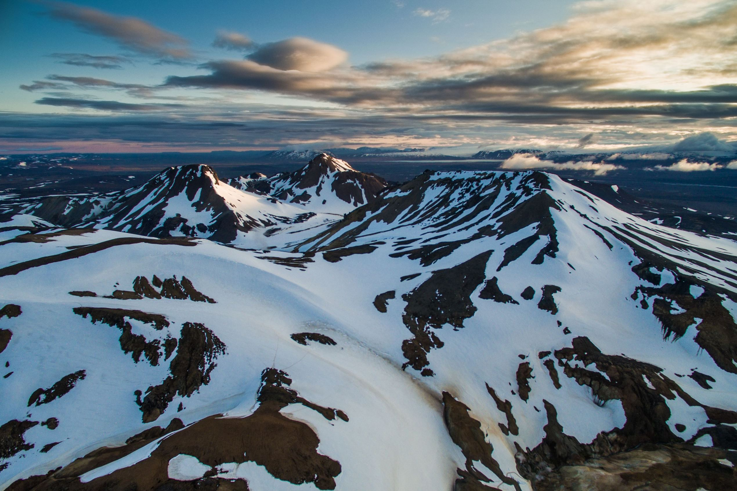 Slide 45 of 100: Incredible drone photos of Iceland - Aug 2015 Kerlingarfjöll, Iceland