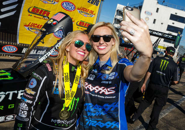 NHRA: Brittany Force to assume her sister's Advance Auto