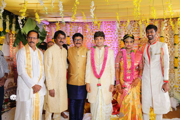 Prabhu Thej And Varsha Reddy S Wedding