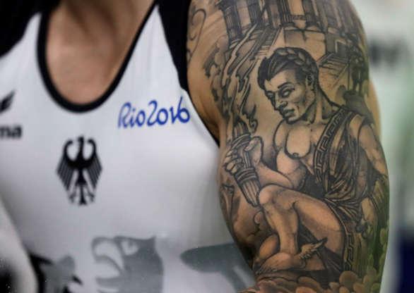 Les Tatouages Des Athletes Aux Jeux De Rio