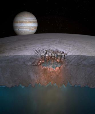 Hubble descobre novas evidências de gêiseres de água na Europa, uma das luas de Júpiter