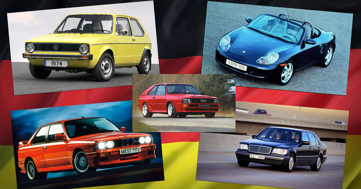 The top 100 German cars of all time