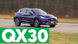 2017 Infiniti QX30 Road Test
