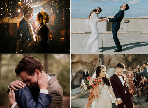 Slide 1 of 51: Best wedding photos of 2016