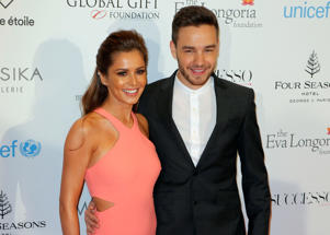 Cheryl and Liam in happier times