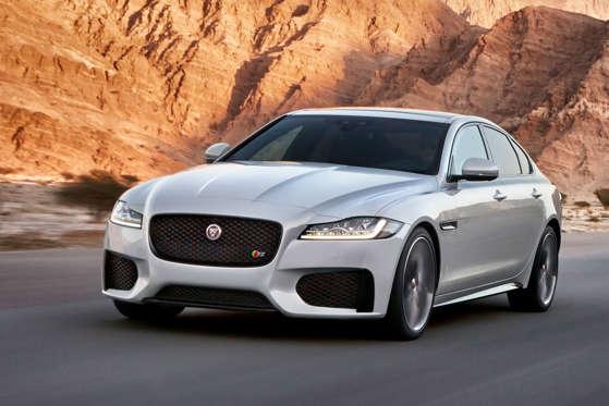 2018 jaguar xf overview - msn autos