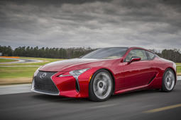 Testing the spaciousness of the Lexus LC 500