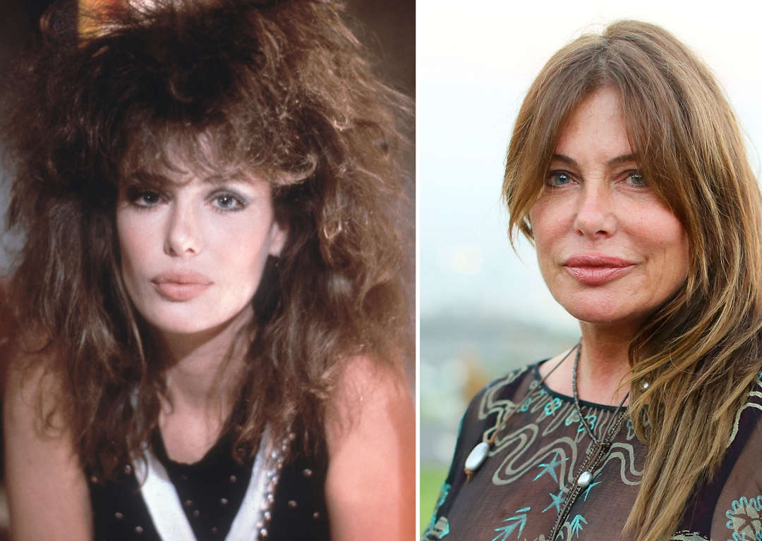Fotos De Kelly Lebrock 52 iconic supermodels: then and now