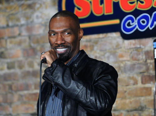 Slide 1 of 43: Charlie Murphy performs at The Stress Factory Comedy Club on November 14, 2014 in New Brunswick, New Jersey.