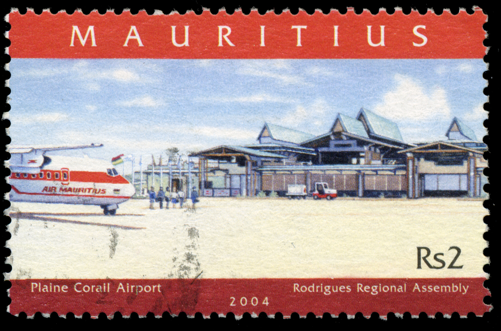 Slide 35 of 70: MAURITIUS - CIRCA 1990: A stamp printed in Mauritius , circa 1990