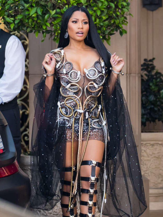 db9a287384d35 Nicki Minaj Puts Her Own Sharp Spin on Drake and Meek Mill's 'Going Bad'
